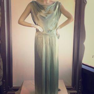 Vintage silk gown
